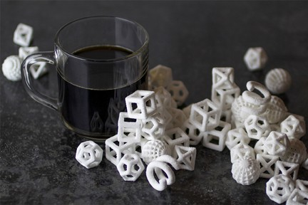 Monochrome sweets produces from the standard Chefjet